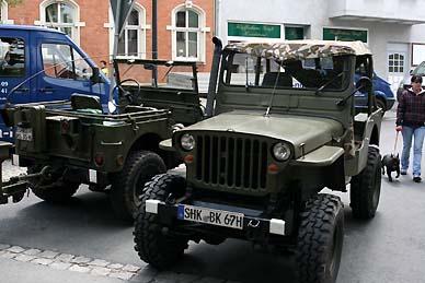 Auch andere historische Fahrzeuge waren anwesend