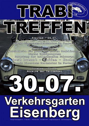 Plakat Trabitreffen 2011